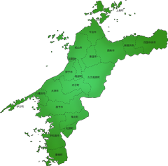 愛媛県の施工対応地域