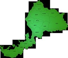 福井県の施工対応地域