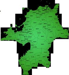 福岡県の施工対応地域