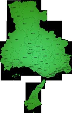 兵庫県の施工対応地域