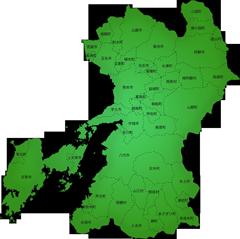 熊本県の施工対応地域