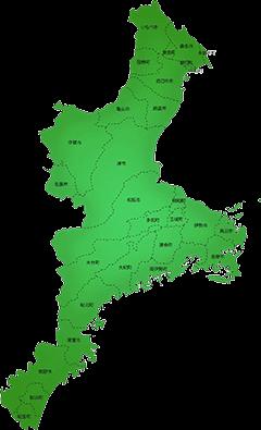 三重県の施工対応地域