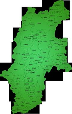 長野県の施工対応地域