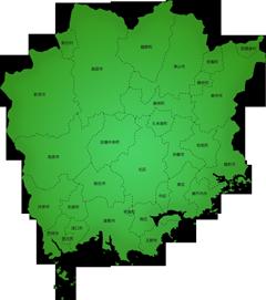岡山県の施工対応地域