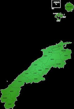 島根県の施工対応地域