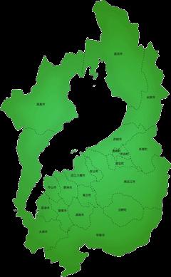 滋賀県の施工対応地域