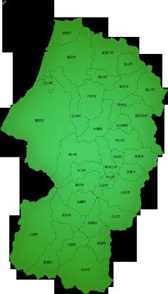 山形県の施工対応地域