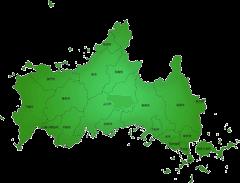 山口県の施工対応地域