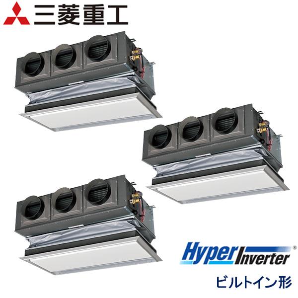 FDRVP2244HT5SA-ca 三菱重工 Hyper Inverter 業務用エアコン ビルトイン形 トリプル 8馬力 三相200V ワイヤードリモコン キャンバスダクト仕様