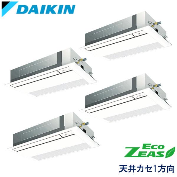 SZRK224ANW DAIKIN ECO ZEAS 天井カセット形1方向 ダブルツイン 8馬力 三相200V ワイヤレスリモコン 標準パネル