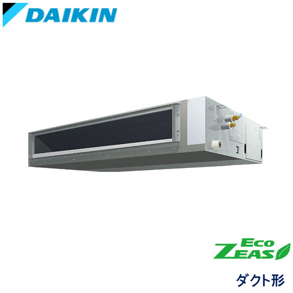 SZRMM112BF ダイキン ECO ZEAS 業務用エアコン 天井埋込ダクト形 シングル 4馬力 三相200V ワイヤードリモコン -