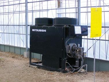 農業用暖房機 農園