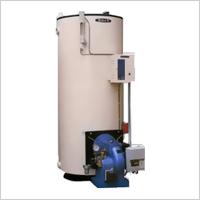 鋼板製立型 無圧式温水機