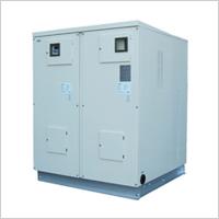 高効率連通管無圧式温水機