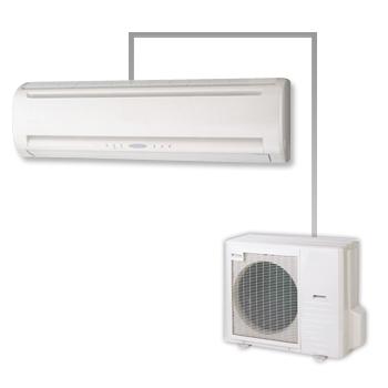 壁掛形エアコン