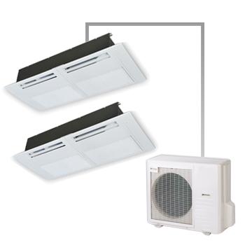 天井カセット形1方向 3馬力 超省エネタイプ ツイン